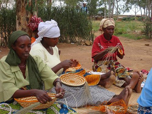 African basket 5