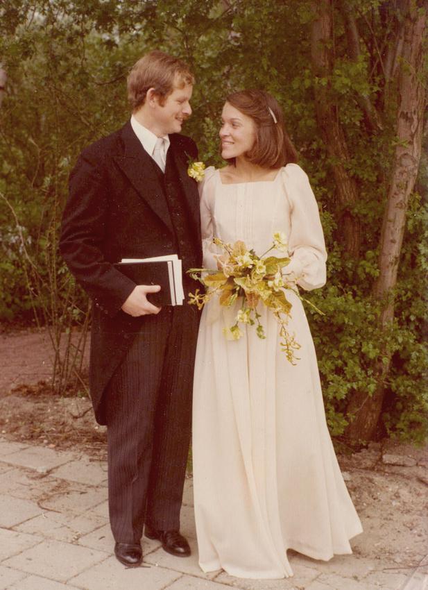 A wedding pap en mam